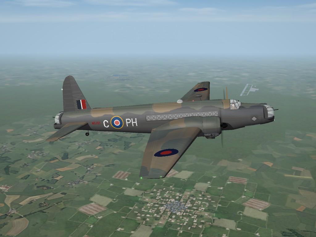 SF2 WW2 RAF Bombers Pak