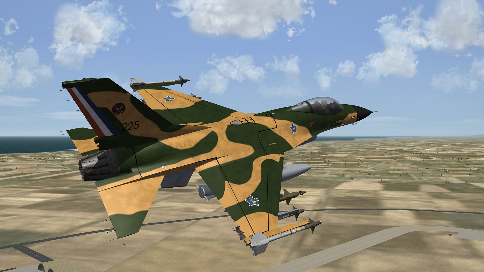 [Fictional] General Dynamics F-16AZ for STRIKE FIGHTERS 2