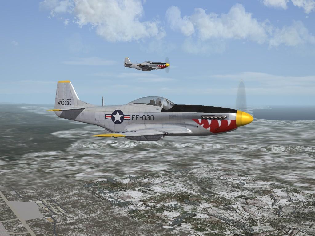 SF2 Korean War Era P-51D Mustangs