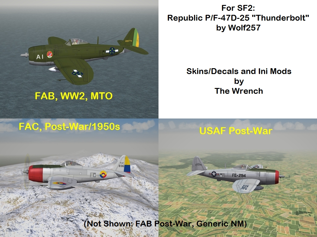 P/F-47D-25 Thunderbolt by Wolf257 - For SF2