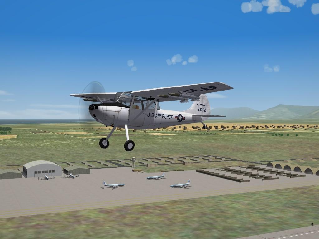 Cessna O-1E BirdDog  Upgrade Pak -for 3rdWire O-1E-