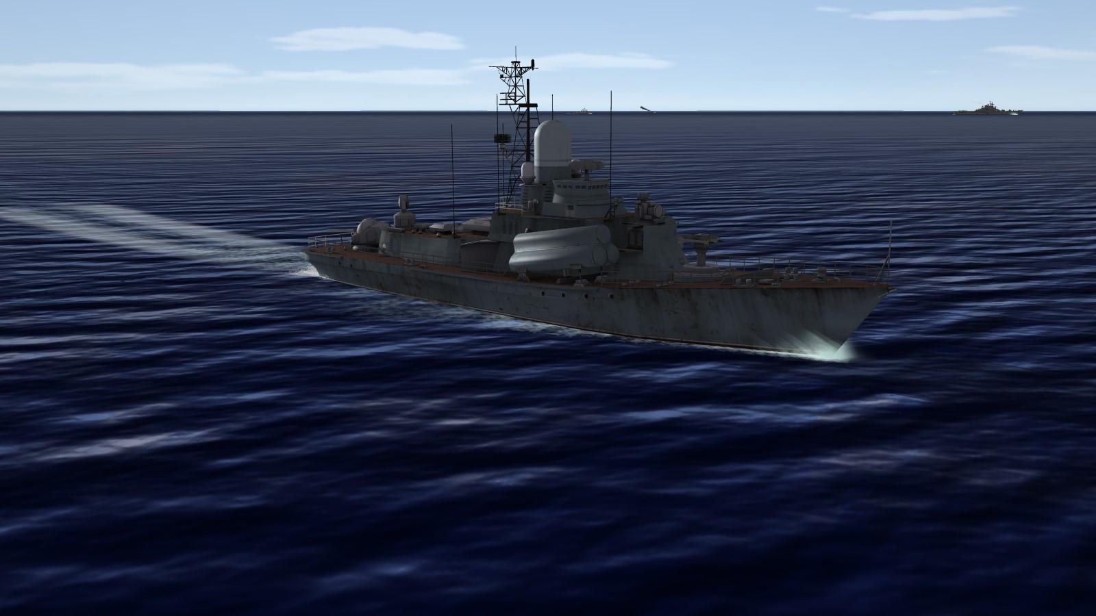 Nanuchka I & II class corvettes