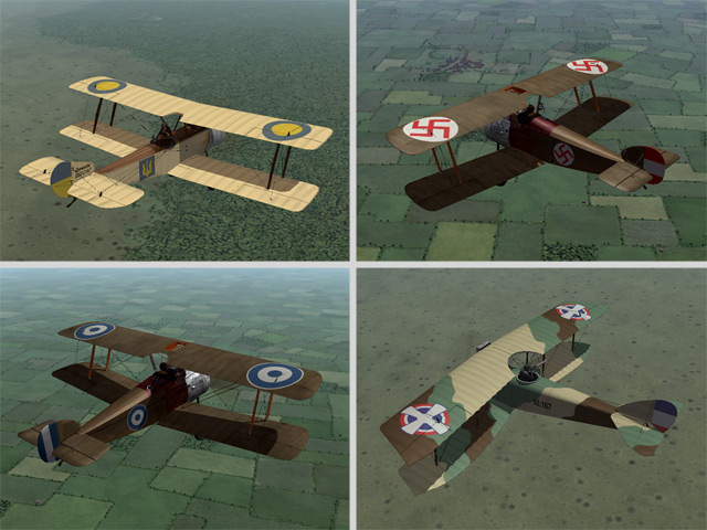 Decals for Post War Nations
