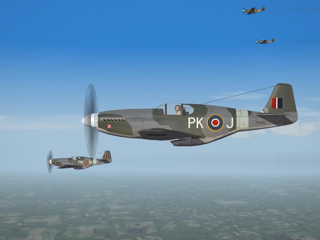 SF2 RAF WW2 ETO Mustang Pak