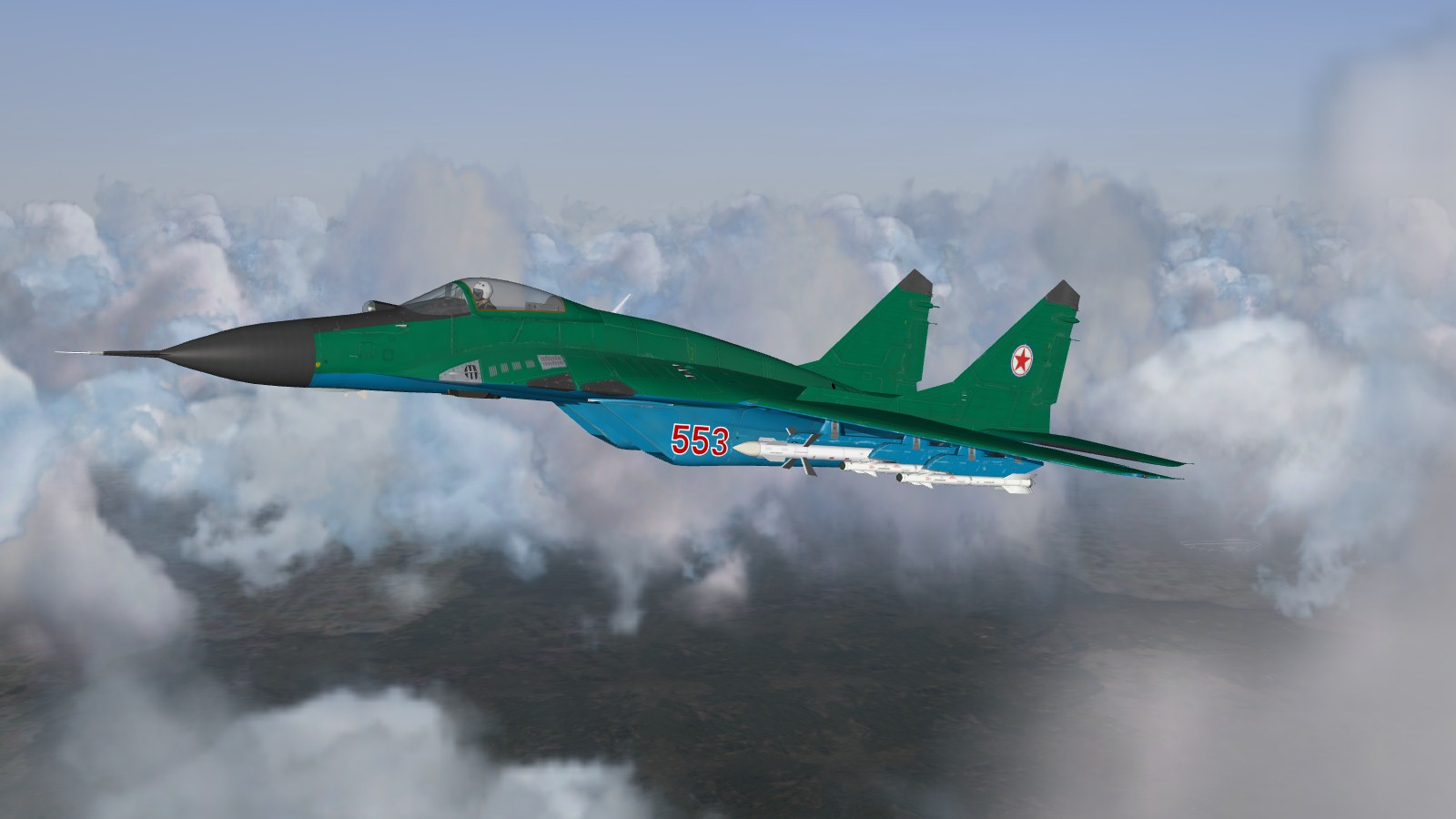 North Korea People's Air Force MiG-29