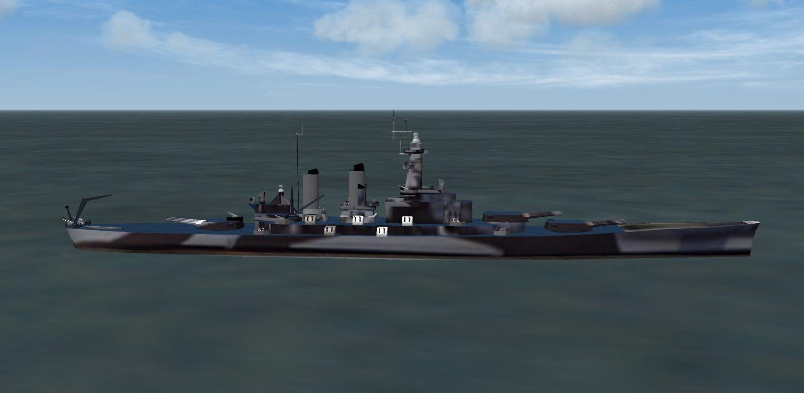 North Carolina class Battleship