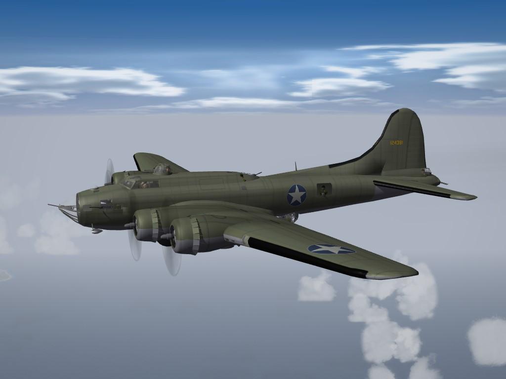 SF2 WW2 PTO B-17F Flying Fortress Pak
