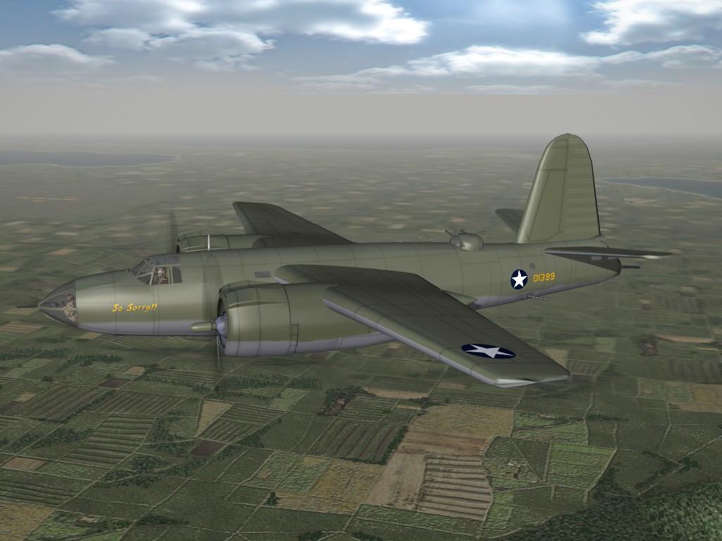 SF2 WW2 PTO B-26 Marauder Pak