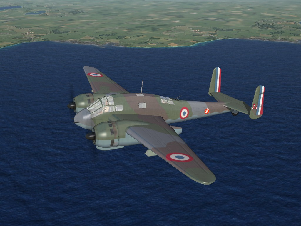 SF2 WW2 French Heavy Fighter/Attack Aircraft Pak