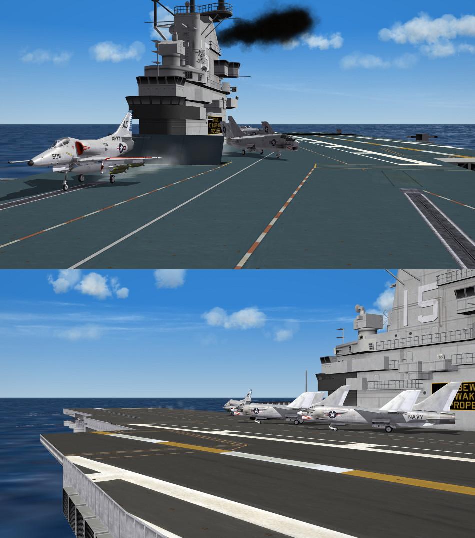 Essex Class Carrier (SCB-125) Hi Res