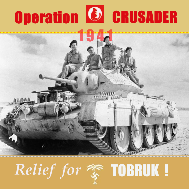 Operation Crusader 1941, a campaign for WoA