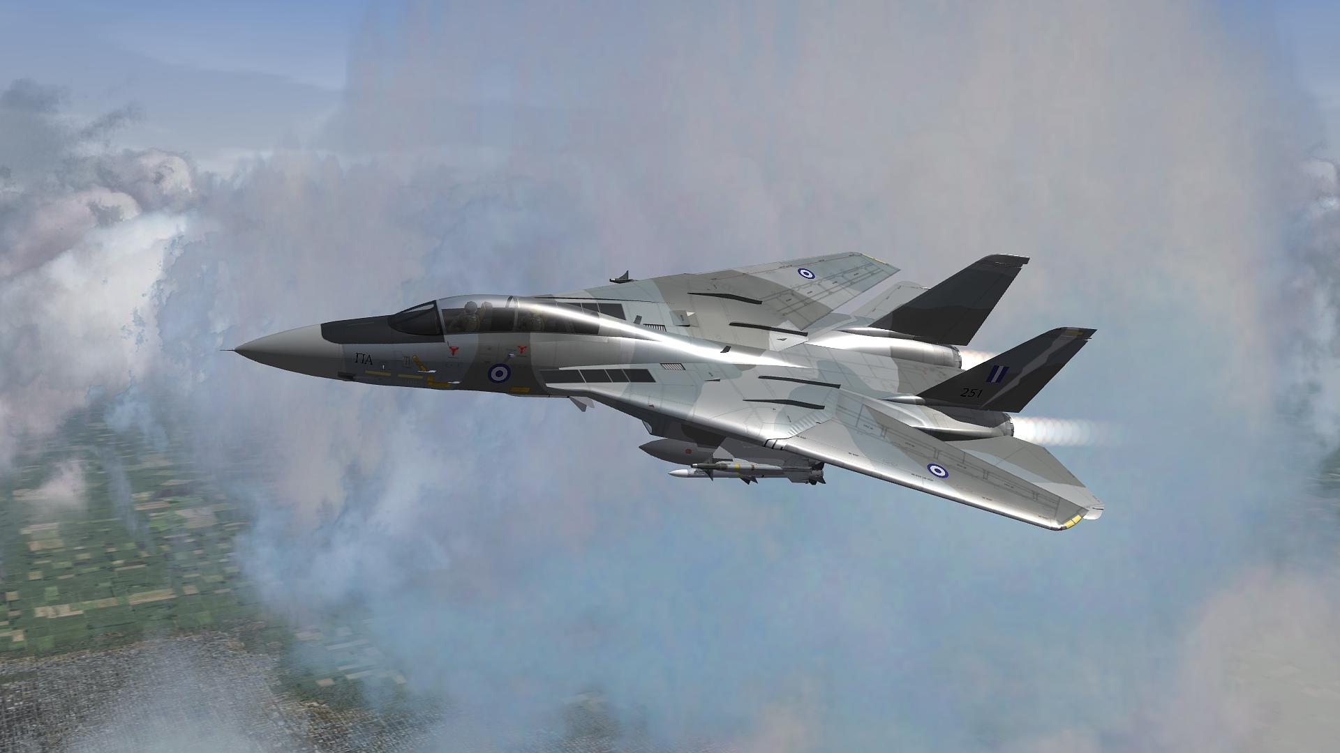 [Fictional] Grumman F-14H - Greek Hellenic Air Force