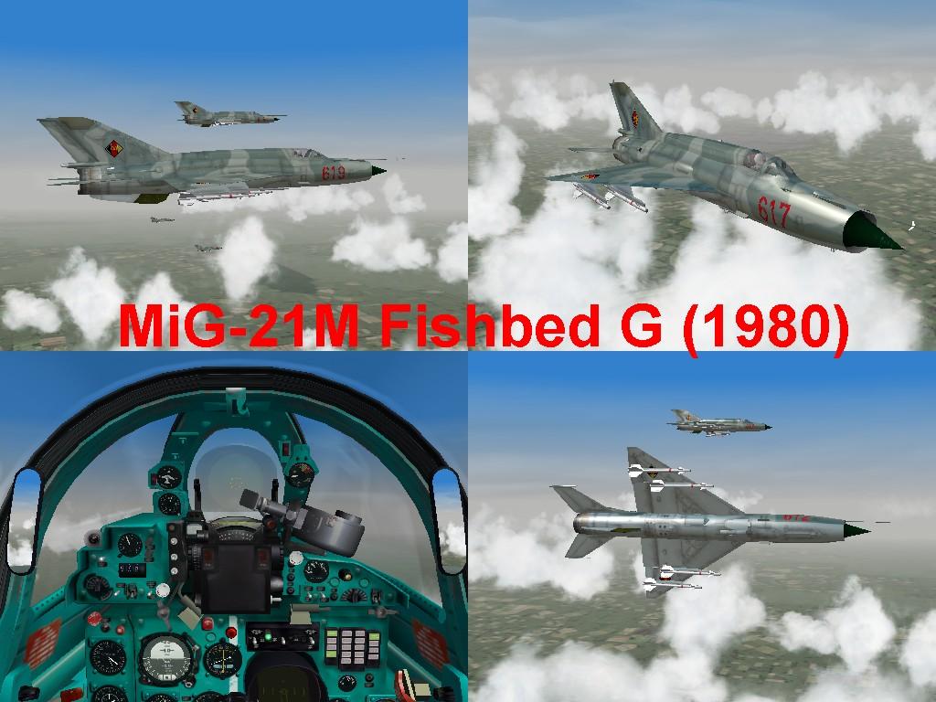 MiG-21M Fishbed-G (1980)