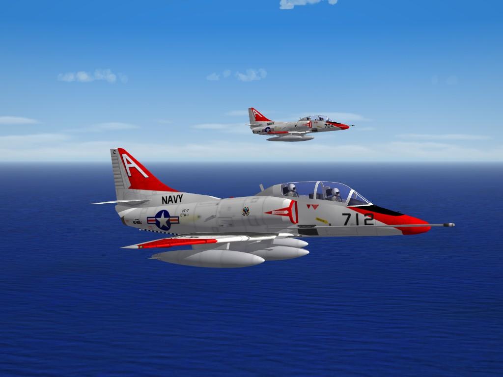 TA-4J Skyhawk by Fracture  SF2 Compliant