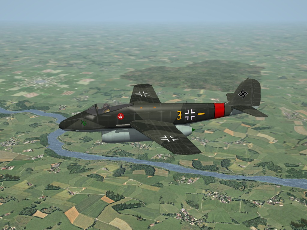 SF2 WW2 Focke Wulf P.II Jet Fighter by Timmy