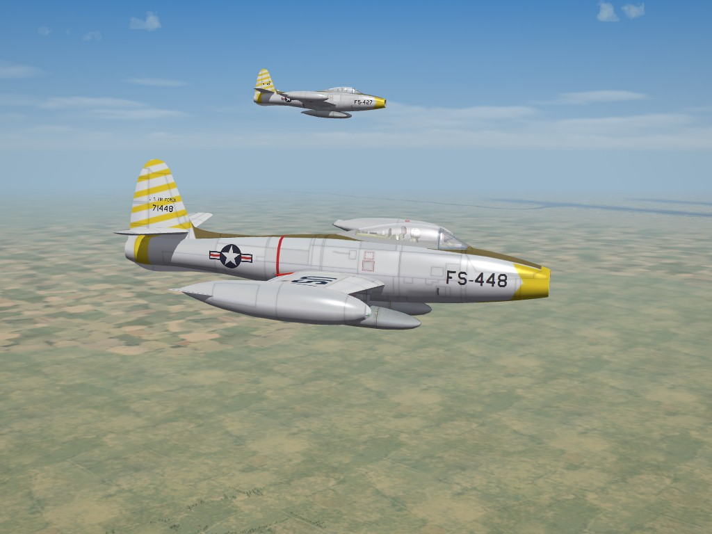 Republic F-84C Thunderjet by RussoUK, for SF2
