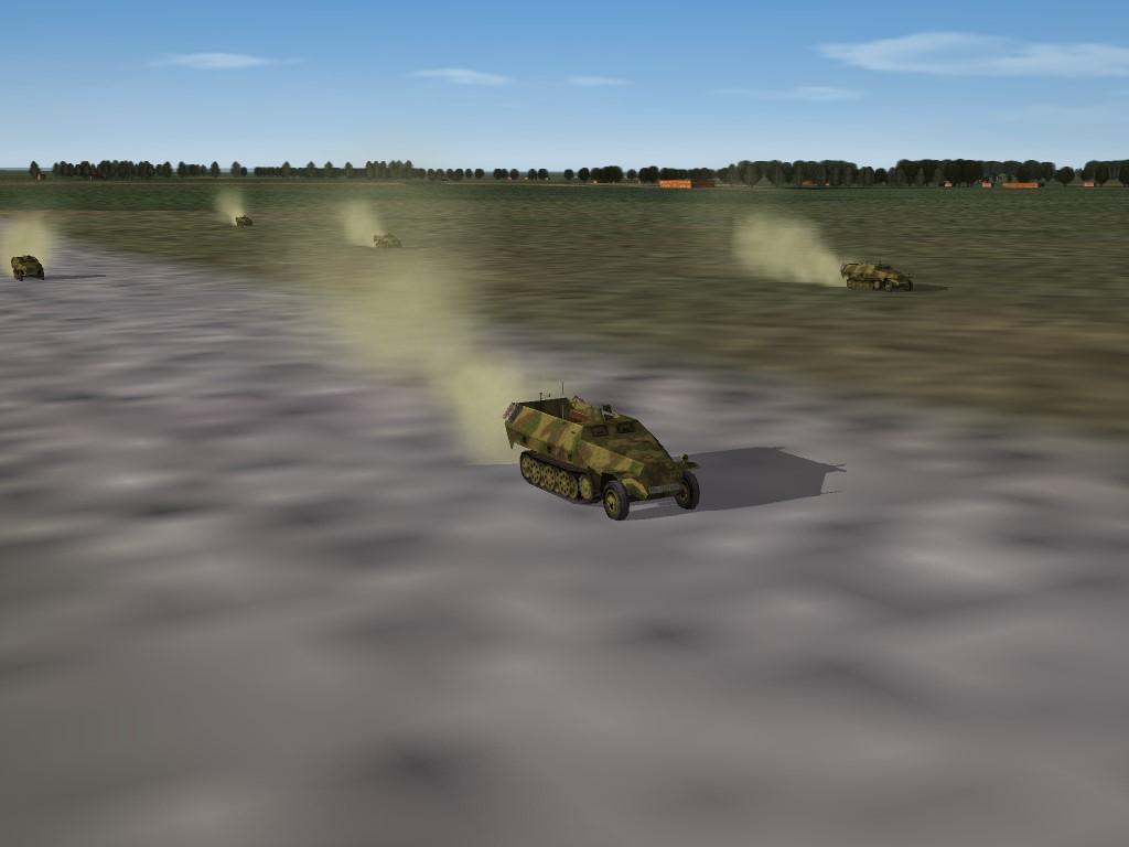 SF2 WW2 SDKFZ-251 Half-Track Mod