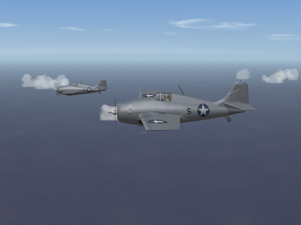 SF2 WW2 PTO - F4F Wildcats and SBD Dauntless
