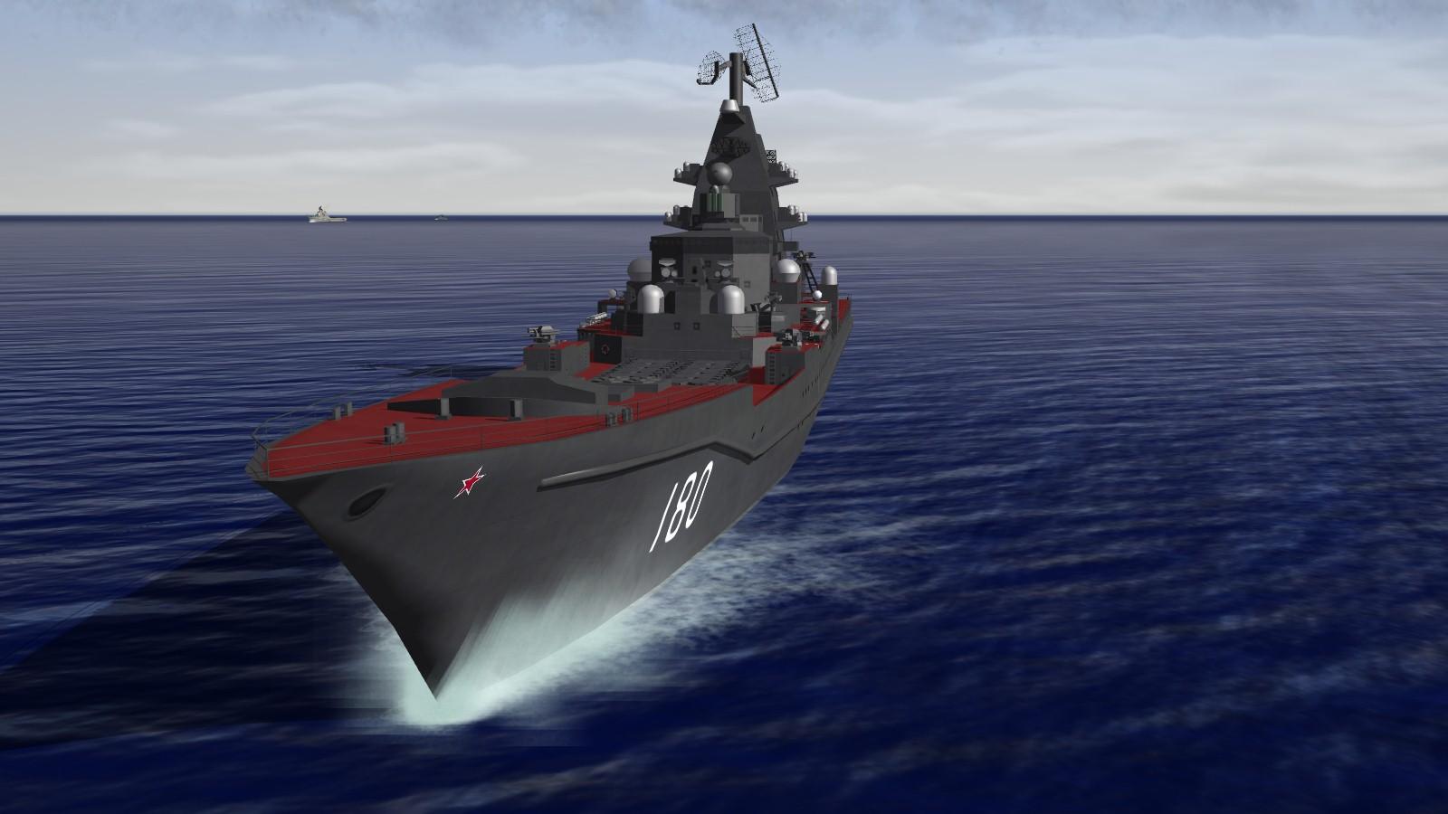 Kirov class battlecruiser (1988 and 1998)