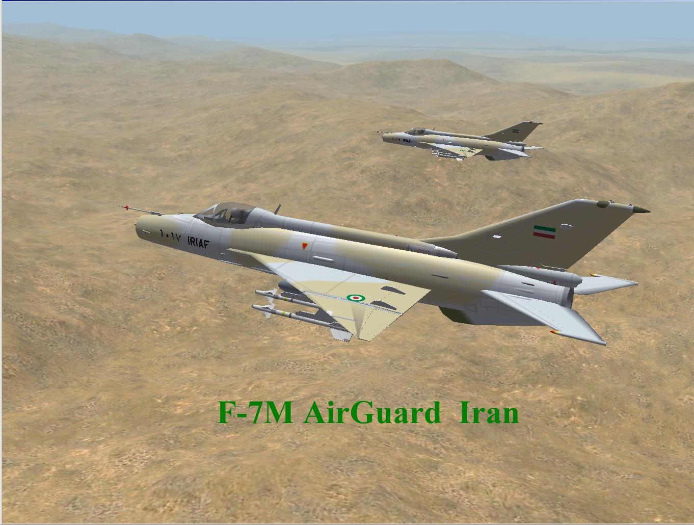 F-7M AirGuard (Iran) for WOI,WOE