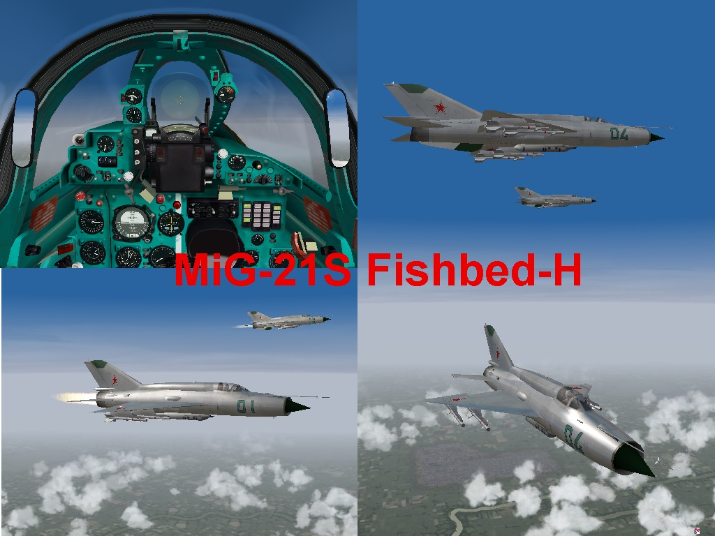 Gepard's MiG-21S Fishbed-H