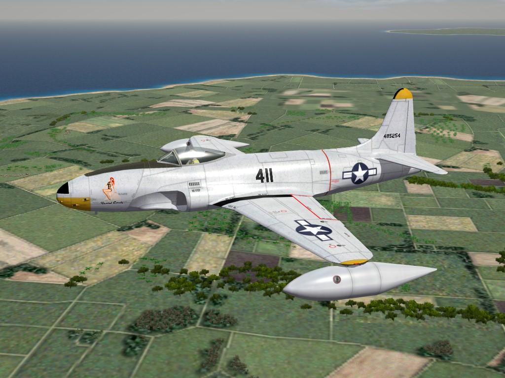 SF2 P-80 Shooting Star, World War 2: 1946 Mod