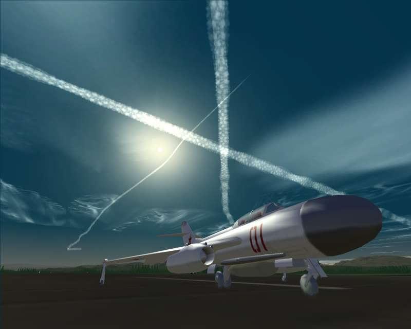 Siberian Sky -- Contrails for strategic air warfare