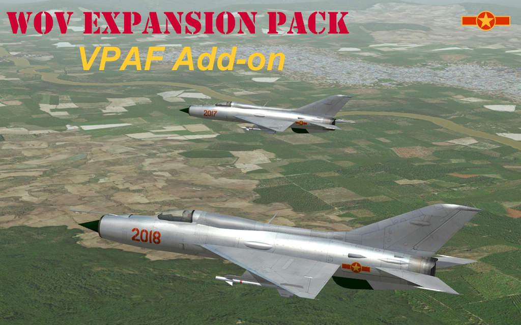 WOV Air & Ground War Expansion Pack Gold - VPAF Add-on