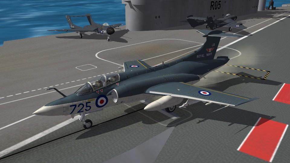 HMS Eagle (R05) Hi Res Deck