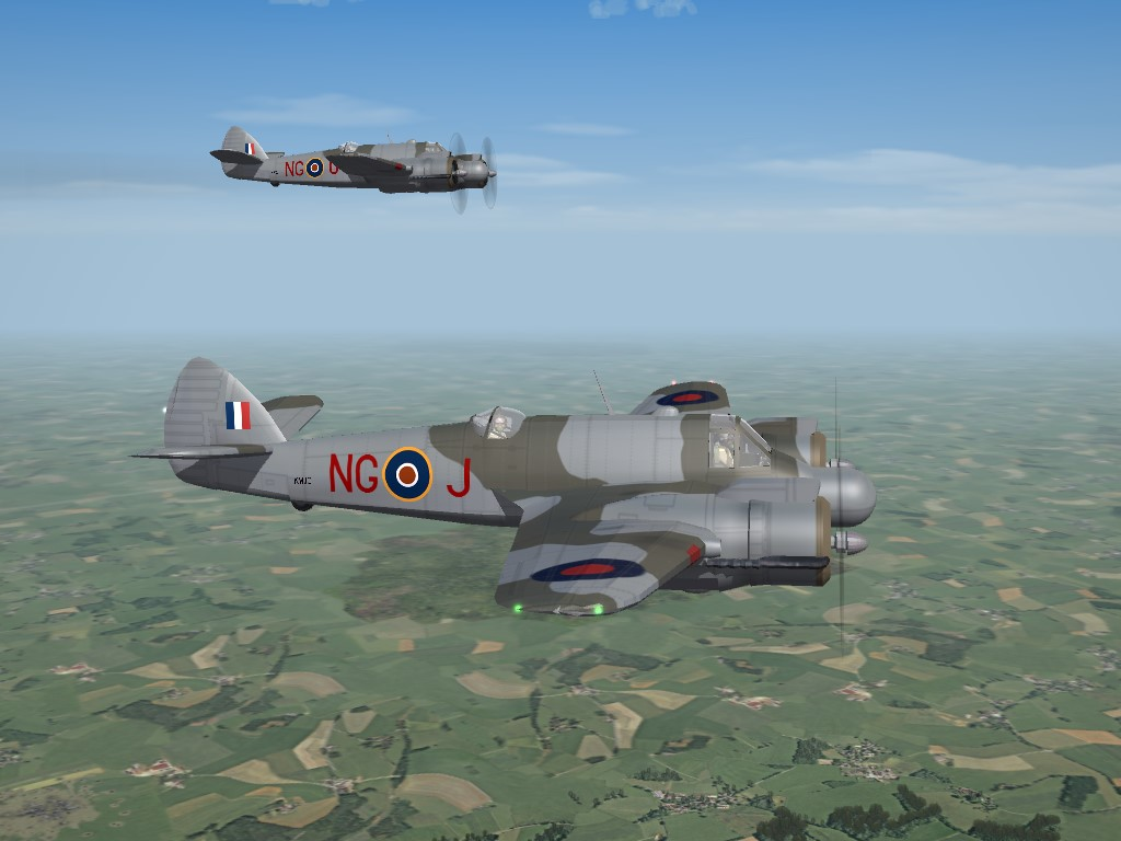 SF2 WW2 ETO Bristol Beaufighter Mk.IVF (DAT)