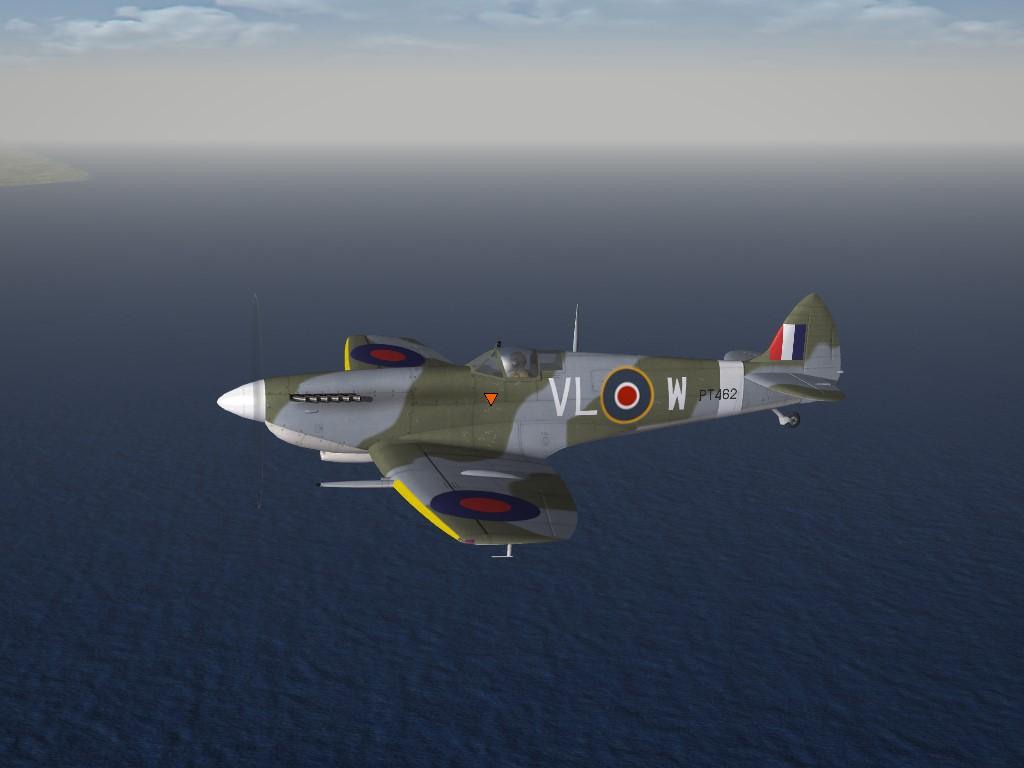 SF2 WW2 ETO Spitfire 9e, 332 Squadron Skin Pak