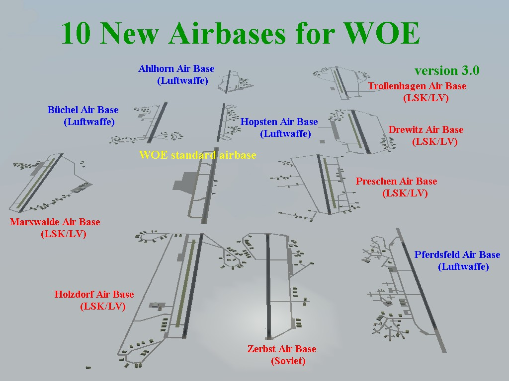10 new airbases for SFP1/WOE