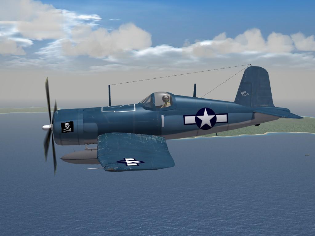 SF2 WW2 F4U-1A Corsair by Mod Mafia/TMF
