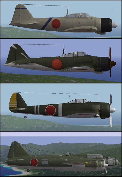 Japanese Aircraft Pack Addon by Armourdave
