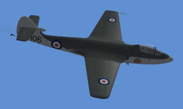 Sea Hawk F.1 late
