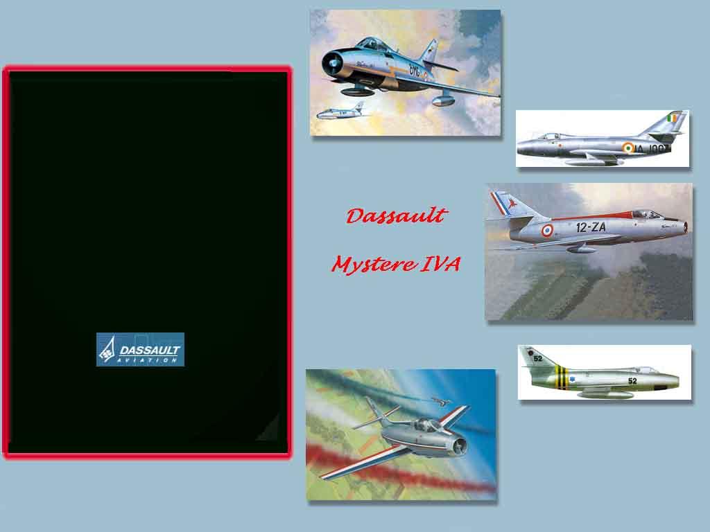 Mystere 4A Hangar Screen