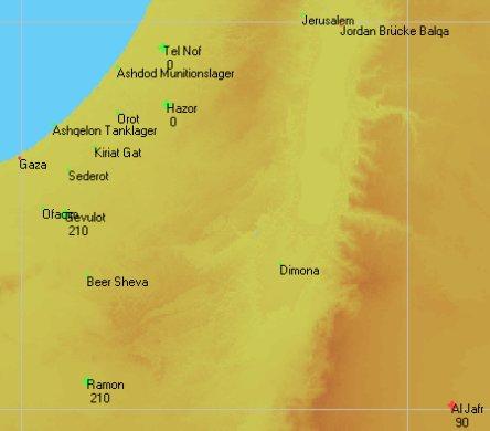 Planning Map: Israel