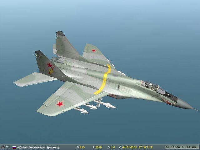 Su-33 and MiG-29 campaigns