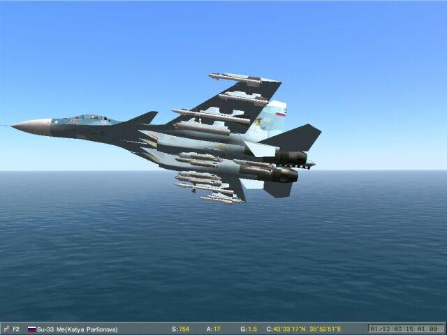 Loft bombing (tossbomb) demo track in Lo-mac 1.02
