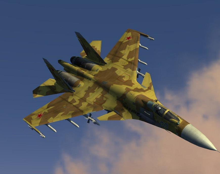 Su-33 Desert_Weathered