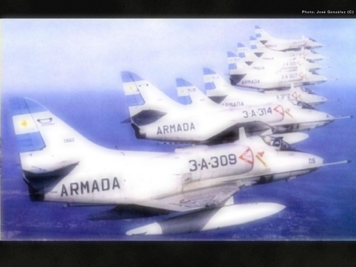 Argentine  navy A-4Q Loading Screen