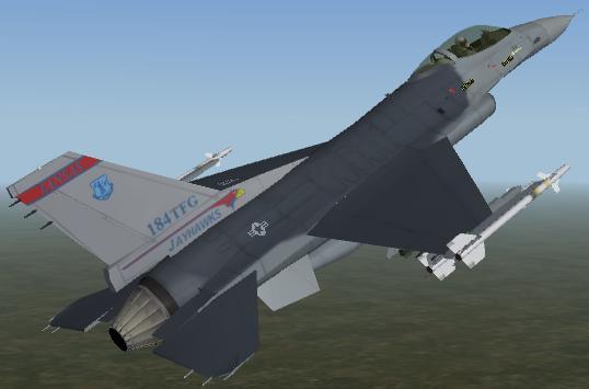 F-16 184thTFGskinpack