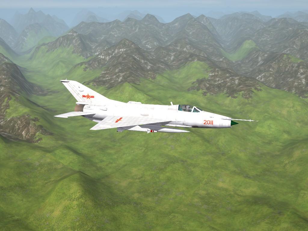 SF2 Chengdu J-7 Fishbed Series Pak by Mod Mafia/TMF