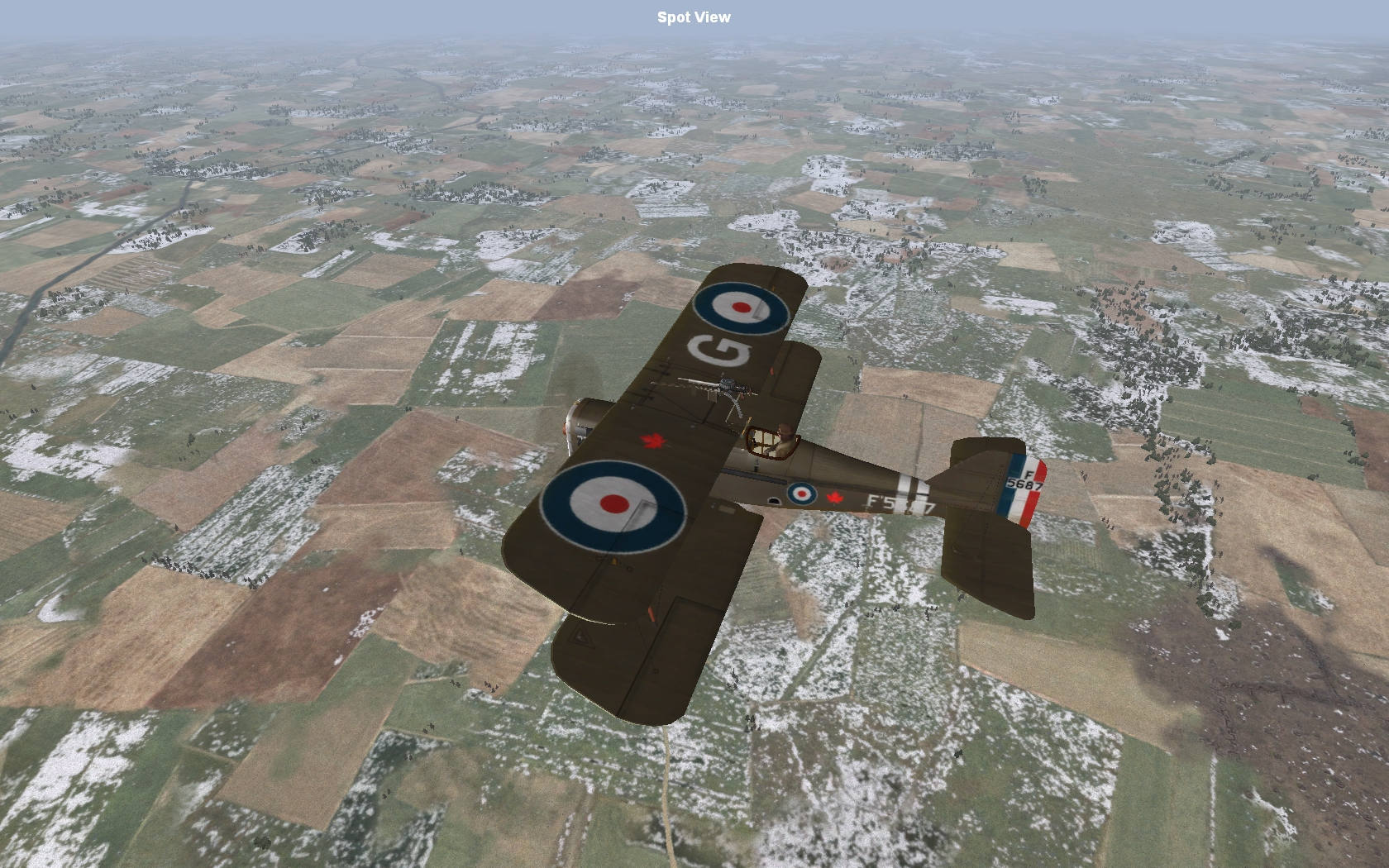 Se5a and Camel moded skins with Canadian Maple Leaf
