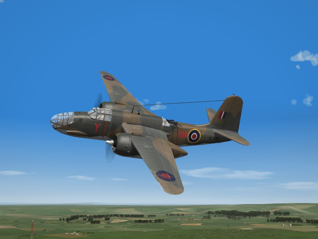 SF2 WW2 RAF Boston III Pak (DAT)