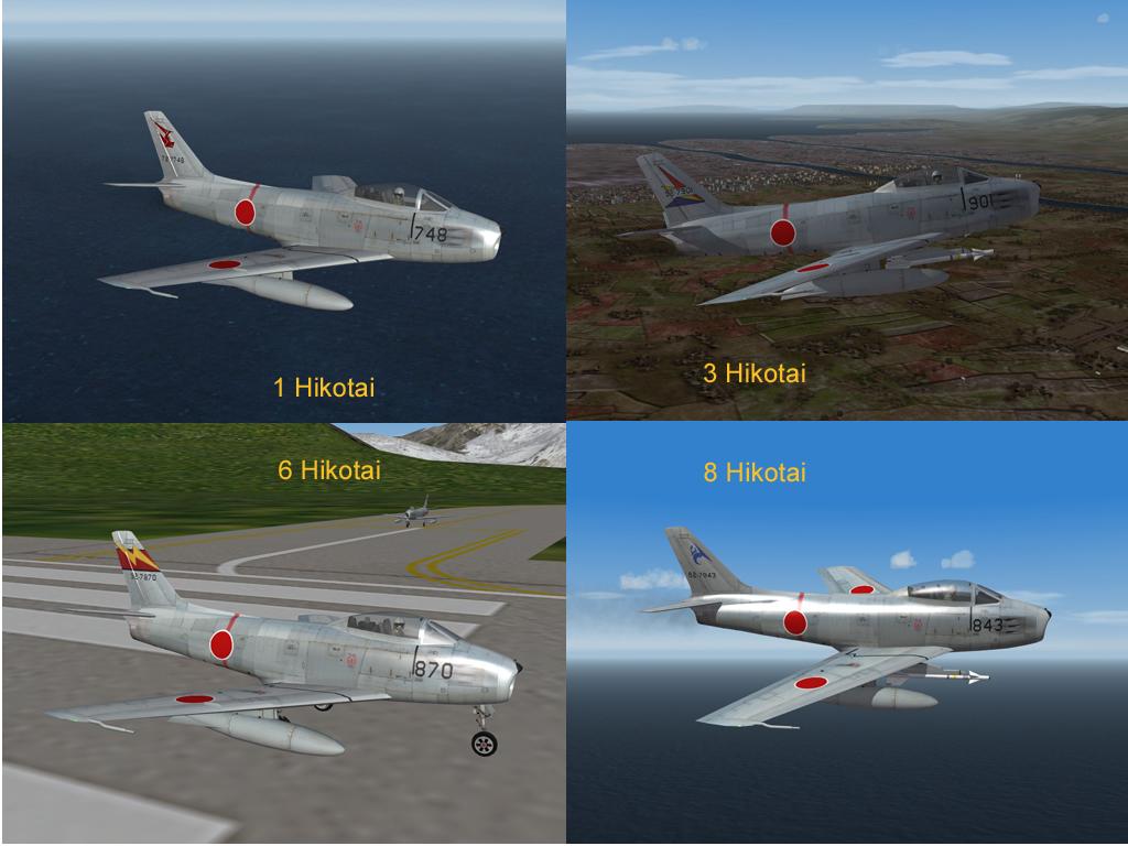 JASDF F-86 Sabre Skin Pak