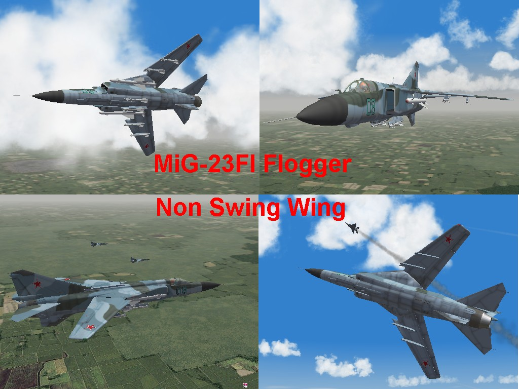 MiG-23FI non swing wing Flogger