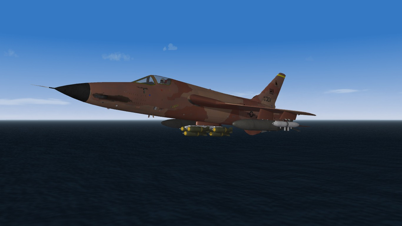 F-105D Hill AFB Skins