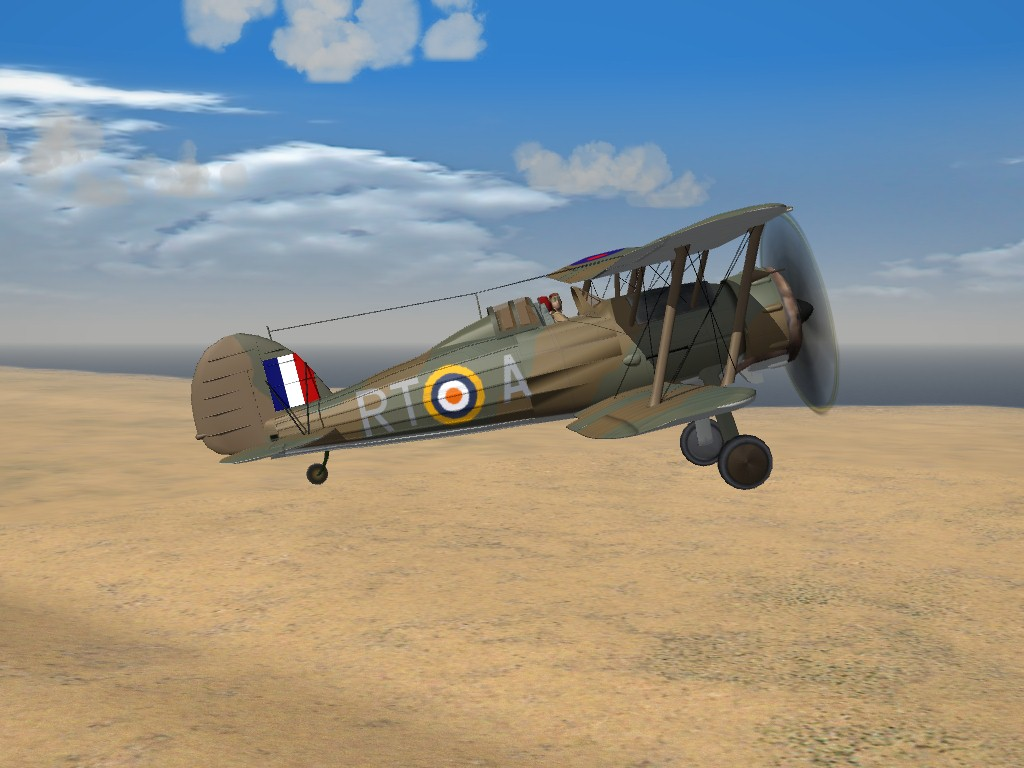 SF2 WW2 Gloster Gladiator Mk.2 and Sea Gladiator by Cocas
