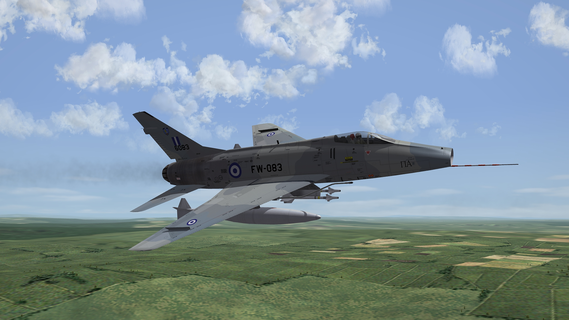 [Fictional] North American F-100H Super Sabre for STRIKE FIGHTERS 2